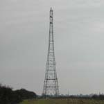 UK: One of the electricity pylons beside the Great Ouse [Picture by Dave Cotton]