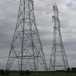 UK: Some electricity pylons near the River Lune [Picture by Dave Cotton]