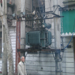 Peru: Interesting street power distribution in Lima [Picture by Howard Fisher]